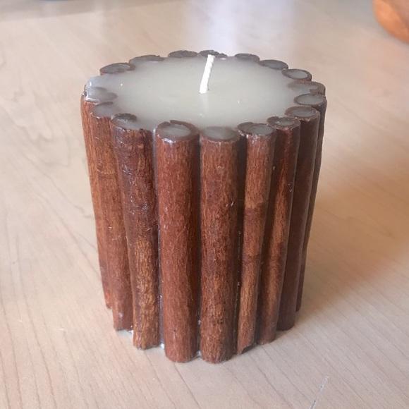 Cinnamon Stick Candle (never lit)